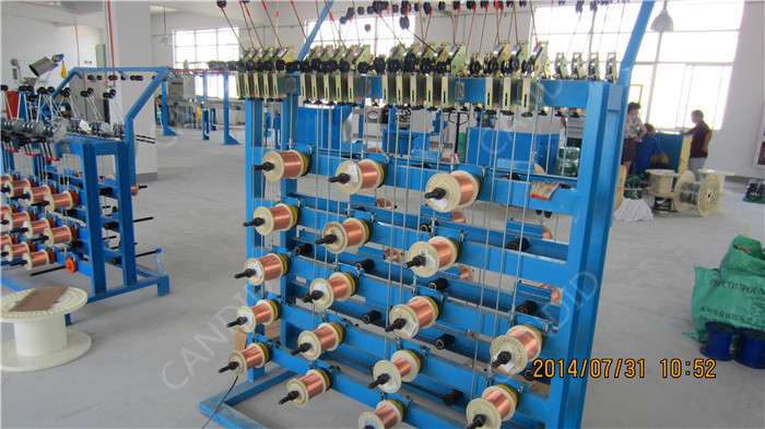 Wire Copper Coating Machine