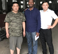 Ethiopian client inspected our nail making factory