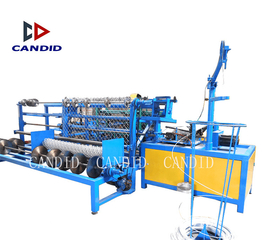 Candid Automatic Single Wire Chain Link Fence Netting Machine