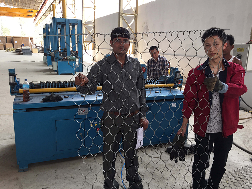 Gabion Side Bordering Machine