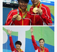 China win first diving gold of Rio Games